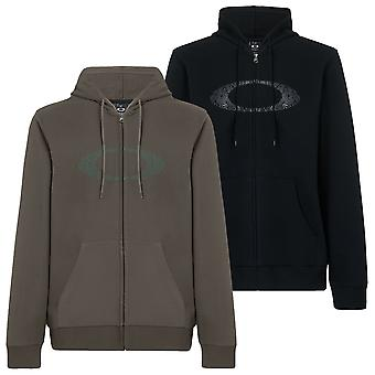 Oakley Mens Camo Lines Ellipse FZ Regular Fit Cotton Hoodie