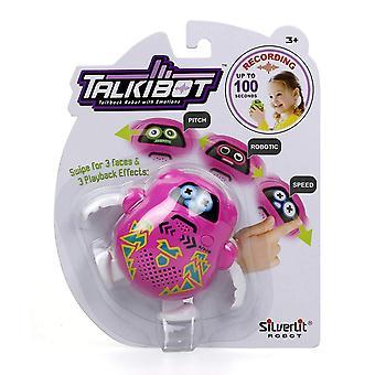 Ασημί λίφτικ Talkibot Ροζ