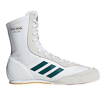 أديداس مربع خنزير x الملاكمة الخاصة مدرب التمهيد الأبيض / الأخضر