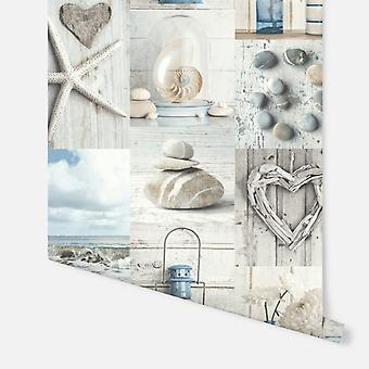699000 - Maritime Collage - Arthouse Wallpaper