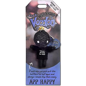 Watchover Voodoo Dolls App Happy  Voodoo Keyring