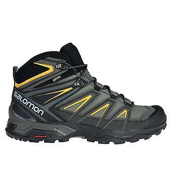 Salomon X Ultra 3 Mid Gtx L40133700 vaellus koko vuoden miesten kengät