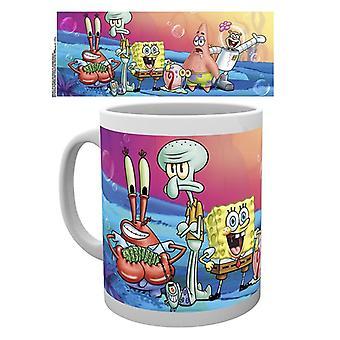 Spongebob Squarepants Group Mugg