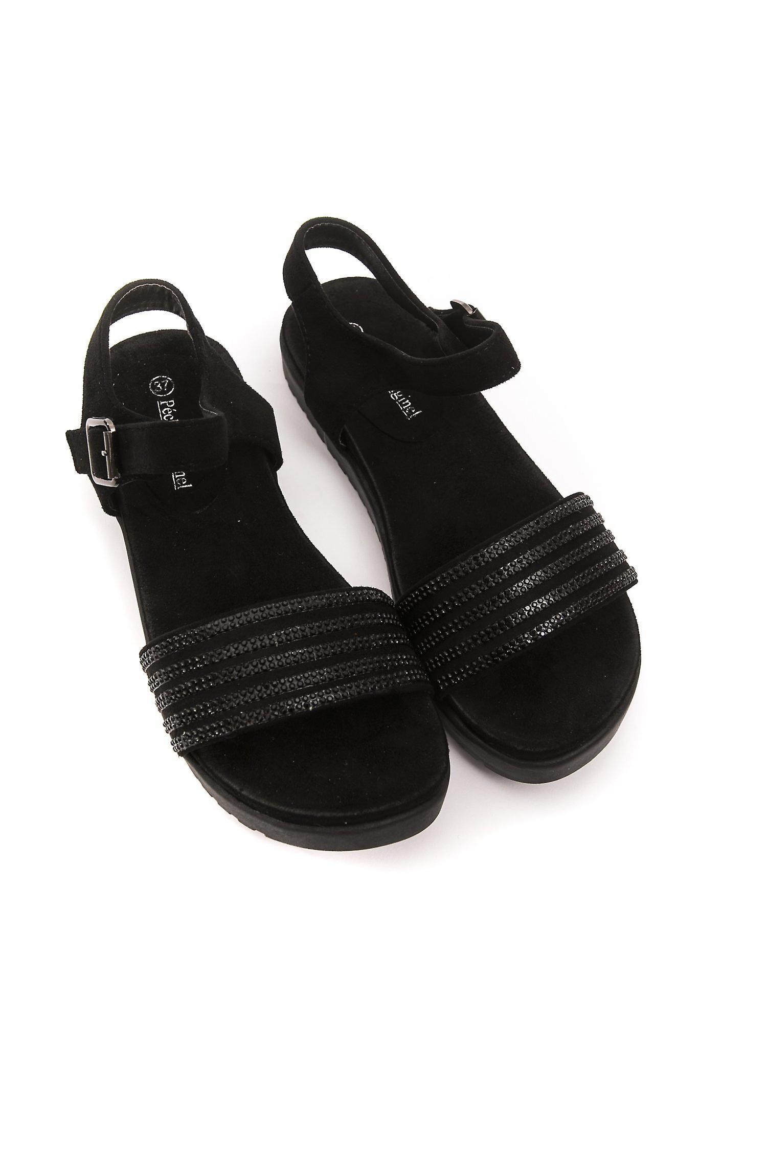 Nero Black Péché Originel Sandaal -- 9991153200 1jhObc