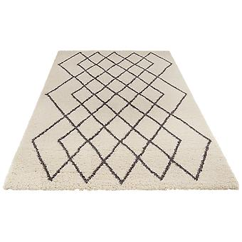 Allure 103776 Touch Cream Grey   Rectangle Rugs Modern Rugs