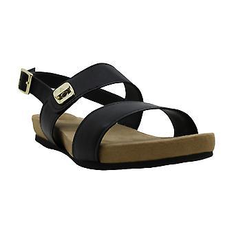 Giani Bernini Womens Ramonaa Leather Open Toe Casual Slide Sandals