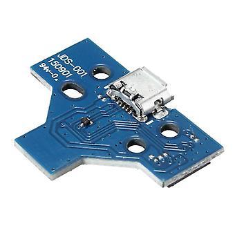 for PS4 Controller USB Charging Port Socket Circuit Board 14 PIN JDS-001 V1