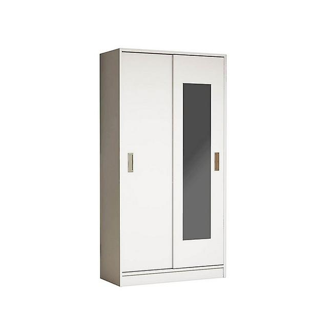 Mobile Ingresso White Color Bianco in Truciolare Melaminico, PVC 92x40x178 cm