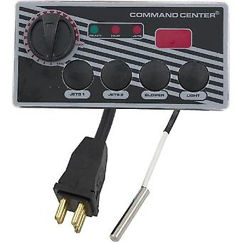 TecMark Corporation CC4D-240-10-I-0 Digital Command Centre 4 Button 230V