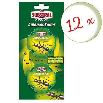 Sparset: 12 x SUBSTRAL® Celaflor® ant baits, 2 doses