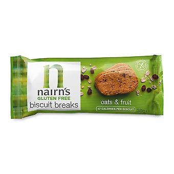Nairn's Gluten Free Oat & Fruit Biscuit Breaks