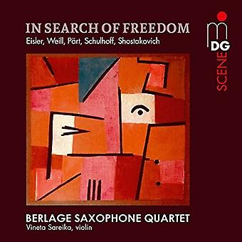 Shostakovich / Berlage Saxophone Quartet - In Search of Freedom [SACD] USA import