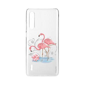 Hull For Xiaomi Mi 9 Lite Myk Flamingo Rose