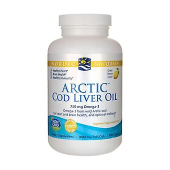 Arctic Cod Liver Oil 750 mg Zitrone None