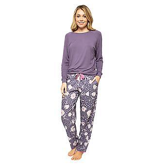 Cyberjammies Serena 4553 Women's Lilac Mix Floral Print Pyjama Pant