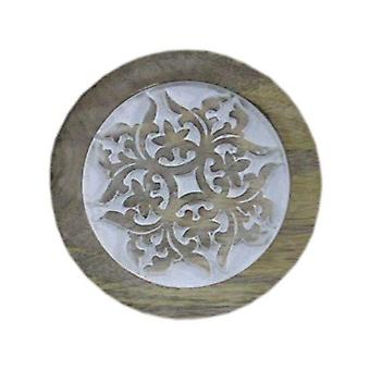 Deco4yourhome Wooden Coaster