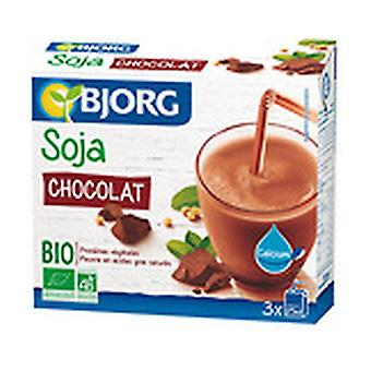 Mini Soy Drink with Chocolate and Organic Calcium 3 units