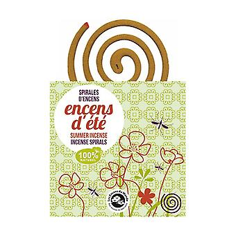 Summer incense, Incense spirals 10 units