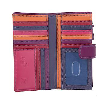 Primehide Large Leather Womens Wallet RFID Blocking Purse Ladies 6082