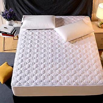 Thicken Quilted Anti Bacteria Mattress Cover - King, Queen Size Quilted Bed