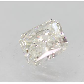 Certificado 0.90 Quilates D SI2 Radiant Enhanced Natural Loose Diamond 5.97x5.26m 2VG