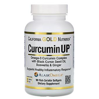 California Gold Nutrition, CurcuminUP, Omega-3 Curcumin Complex, Inflammation Su