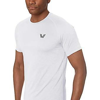 Peak Velocity Men's Standard VXE Short Sleeve Quick-Dry Athletic-Fit Crew T-S...