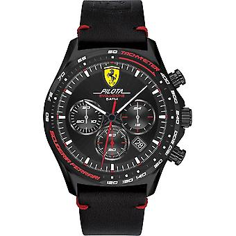SCUDERIA FERRARI - Wristwatch - Men - 0830712 - PILOTA EVO