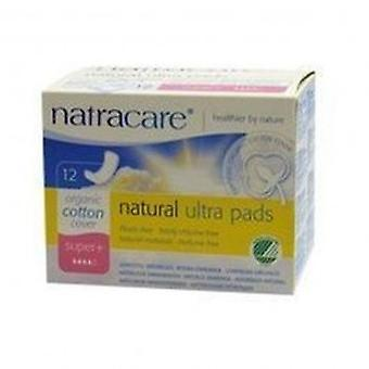 Natracare - Ultra Pads Super Plus 12pieces