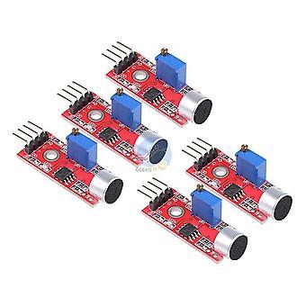 Module de détection de capteurs de microphone sonore sensible 5pcs pour Arduino Avr Pic