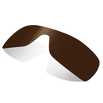 Polarized Replacement Lenses for Oakley Batwolf Sunglasses Anti-Scratch Brown