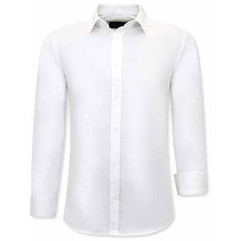 Trendy Shirts - Slim Fit - White