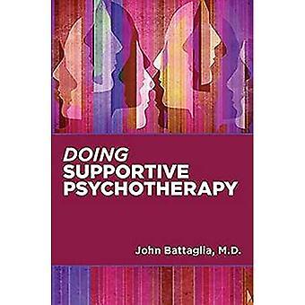Het doen van ondersteunende psychotherapie