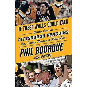 If These Walls Could Talk:� Pittsburgh Penguins: Stories from the Pittsburgh� Penguins Ice, Locker Room,� and Press Box