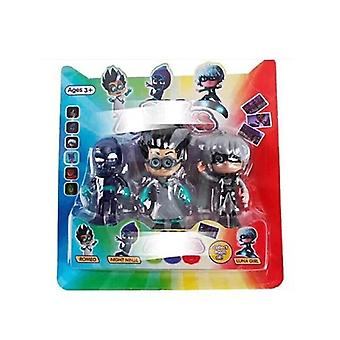 Pj Masks, Juguete Catboy Owlette Gekko Anime Figure Sets For Birthday