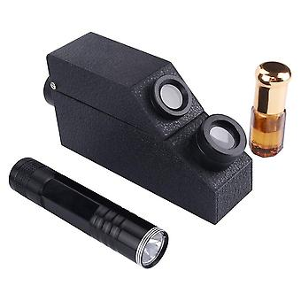 Gemstone Polarizing Filter, Gem Refractometer, 1.81 Ri Oil, Led Gem Tester