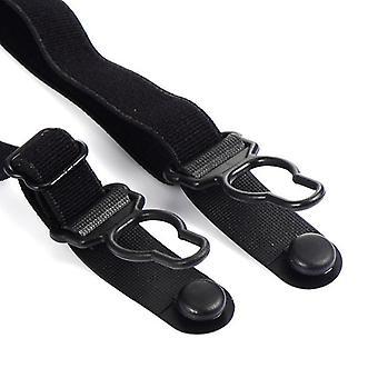 Gentleman Leg Elastic Male Shirt, Business Men Shirt Stays Garters Suspenders