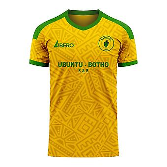 Mamelodi Sundowns 2020-2021 Home Concept Football Kit (Libero)