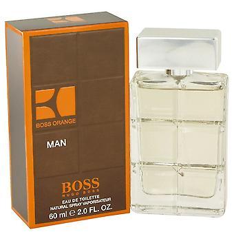 Boss Orange by Hugo Boss Eau De Toilette Spray 2 oz / 60 ml (Men)