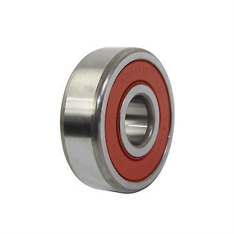 NTN Double Rubber Sealed Bearing - 6301DDU