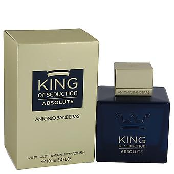 King of Seduction absoluuttinen jäseneltä Antonio Banderas Eau De Toilette Spray 3,4 oz/100 ml (miehet)