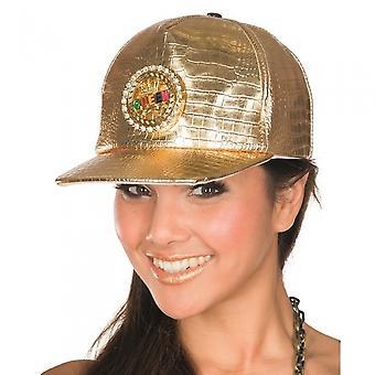 Queen Cap Dames Goud