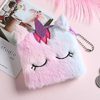 Cute Unicorn Female Waist Bag/ Cartoon Plush Belt/chest Bags, Fashion Travel