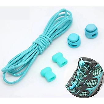 Elastic Round Locking, No-tie Shoe Laces For Sneakers