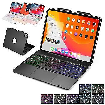 Touchpad Tastatur Fall für Ipad Pro 12.9 Abdeckung mit Bleistifthalter/Hintergrundbeleuchtung