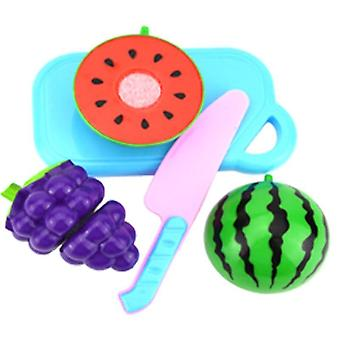 Vihannesten hedelmäleikkuri Muovi Vauva Teeskentele Play House Set Kids Educational
