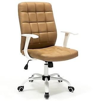 Fashion Computer Chair Office Swivel Modern Simple White Stool Seat