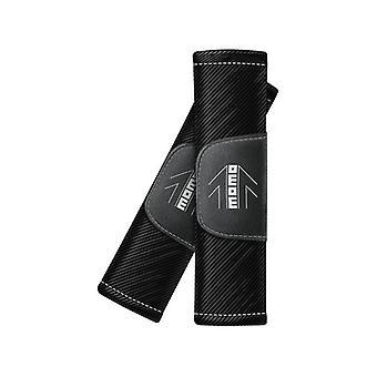 حزام الأمان منصات مومو SHP002BW الأسود (2 uds)