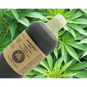 100% Pure Hemp Seed Oil (organic, Cold Pressed
