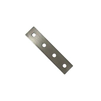 M10 Four Hole Fixing Plate For Channels T304 Stainless Steel (comme Unistrut / Oglaend)